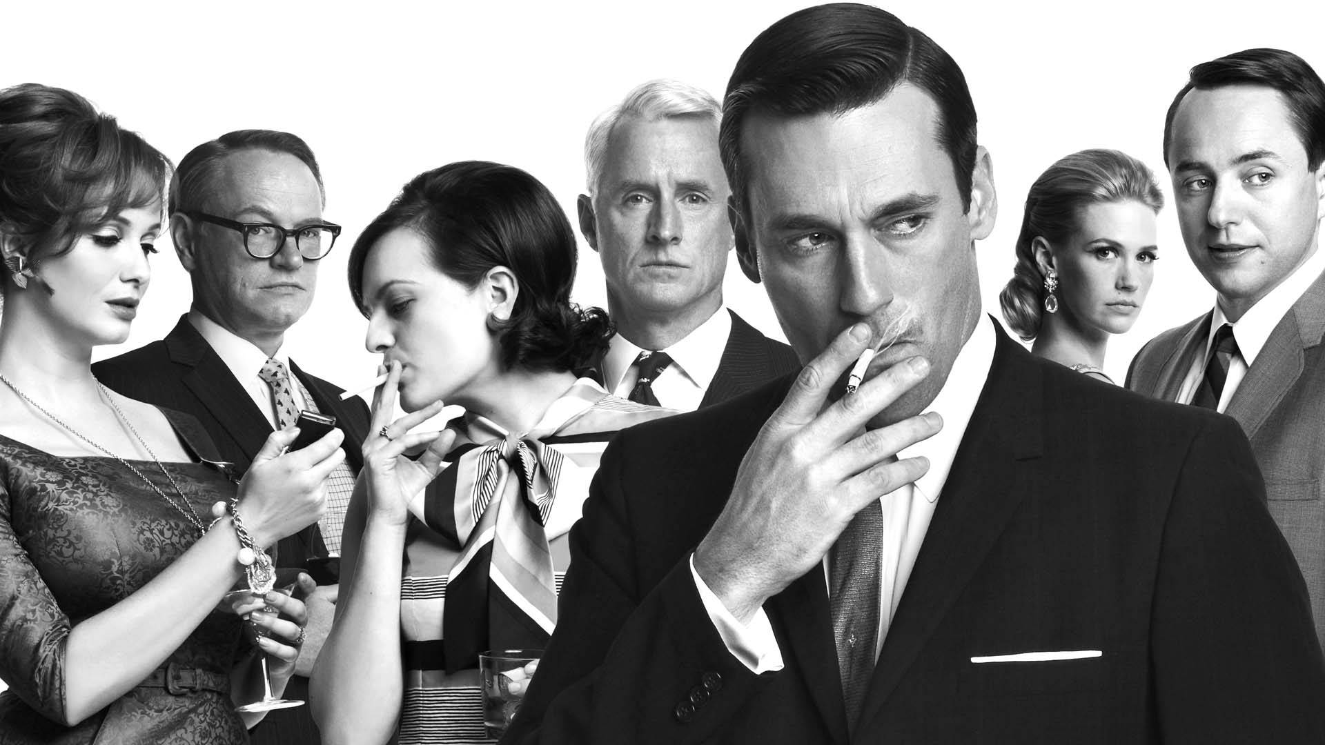 mad_men_cast_bw